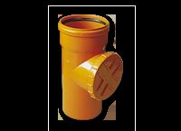 Czyszczak rewizja kanalizacji zewnętrznej z PCV PCW Jurex