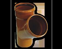 Trójnik kanalizacji zewnętrznej z PCV PCW Jurex