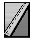 Listwa J 1/2 z PCW PCV Jurex